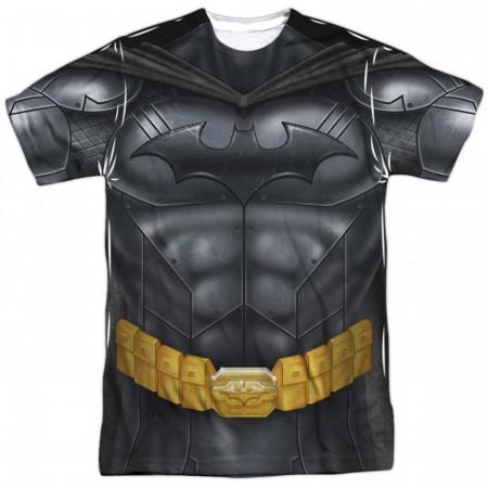 Batman Sublimated Costume Athletic Men's T-Shirt