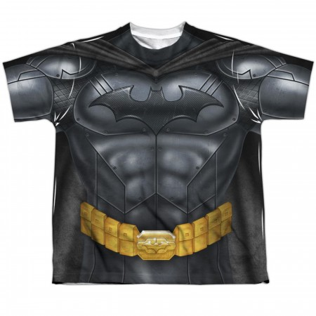 Batman Sublimated Costume Athletic Kid's T-Shirt