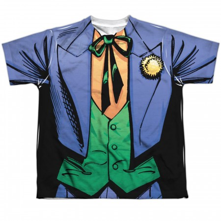 Joker Uniform Sublimated Costume Kid's T-Shirt