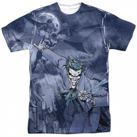 Catch the Joker Batman Front Sublimated Men's T-Shirt
