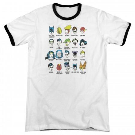 Superhero Issues Men's Ringer T-Shirt