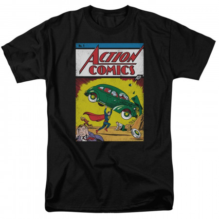 Superman Action Comics #1 Cover Men's T-Shirt