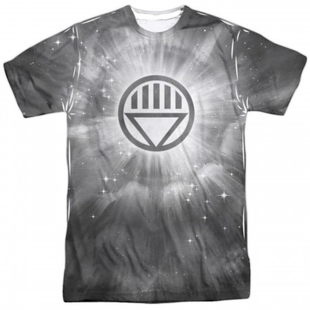 Green Lantern Black Energy Symbol Sublimated Front and Back Men's T-Shirt