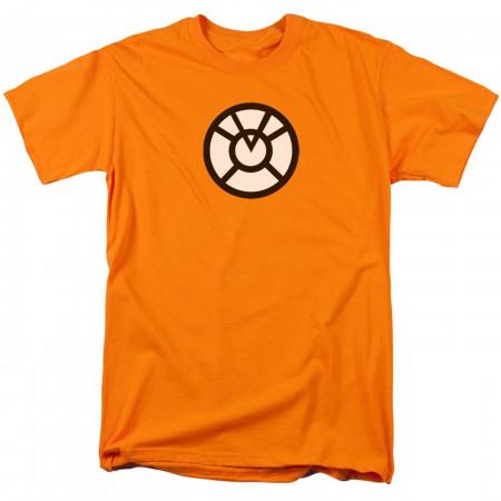 Green Lantern Agent Orange Symbol Men's T-Shirt