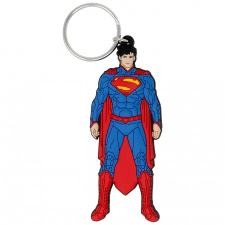Superman Soft Touch Keychain