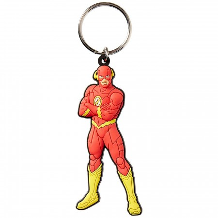 The Flash Soft Touch Keychain