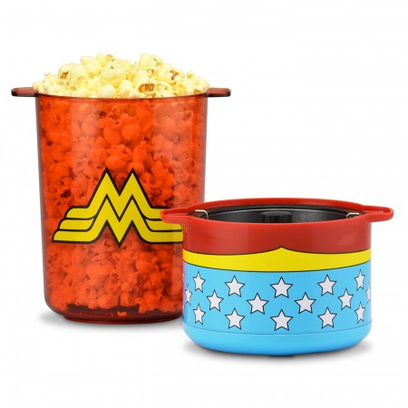 Wonder Woman Stir Popcorn Popper