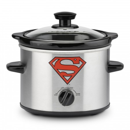 Superman 2-Quart Slow Cooker