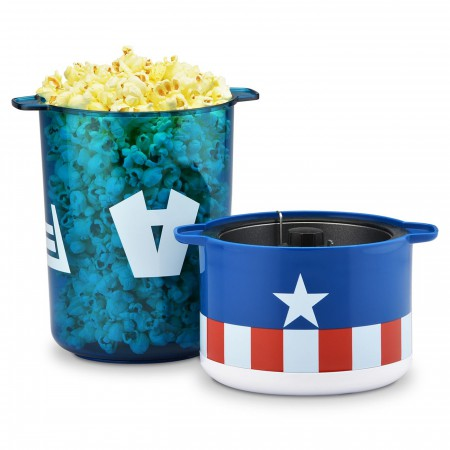 Captain America Stir Popcorn Popper