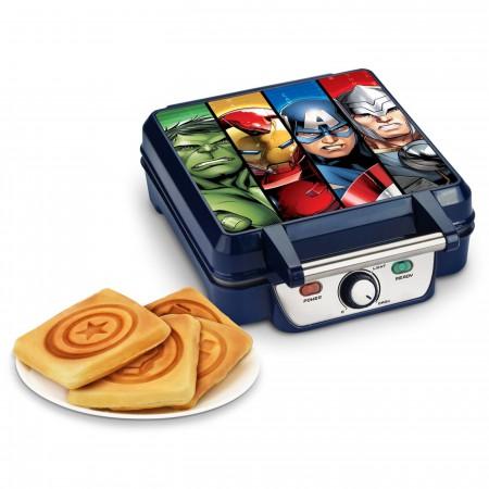 Avengers Four Piece Waffle Maker