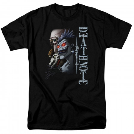 Death Note Shinigami Men's Black T-Shirt