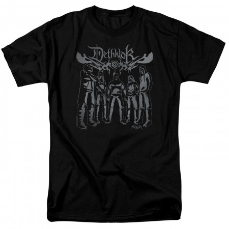 Metalocalypse Dethklok Band Men's Black T-Shirt