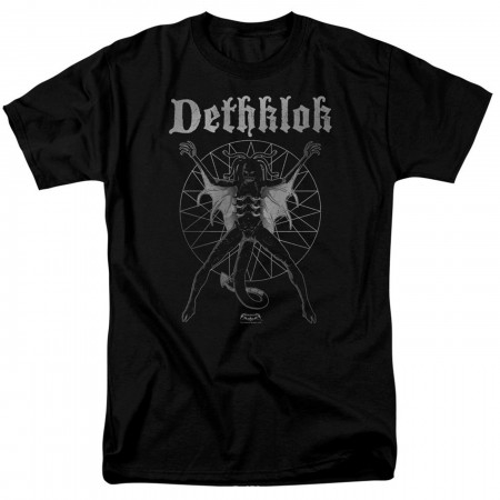 Metalocalypse Dethklok Sigil Black Men's T-Shirt