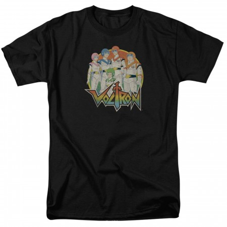 Voltron Group Shot Black Men's T-Shirt