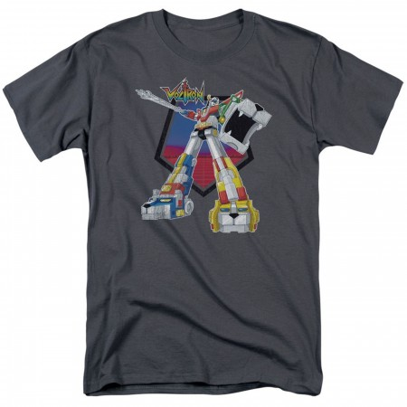 Voltron Blazing Sword Grey Men's T-Shirt