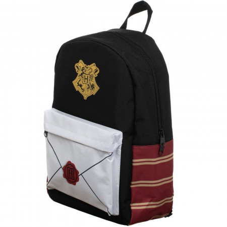 Harry Potter Envelope Sublimated Panel Print Backpack