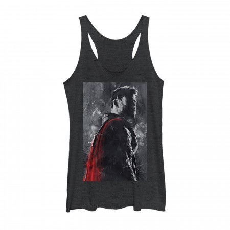 Avengers Endgame Thor Painted Women's Tank Top