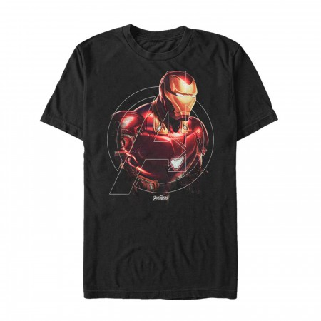 Avenger Iron Man Iron Hero Men's T-Shirt