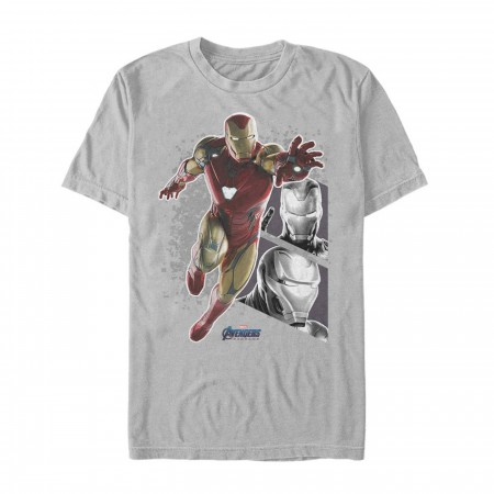 Avenger Endgame Iron Man Panels Men's T-Shirt