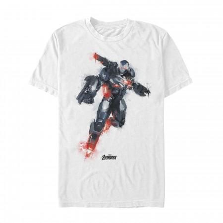 Avenger Endgame War Machine Painted Men's T-Shirt