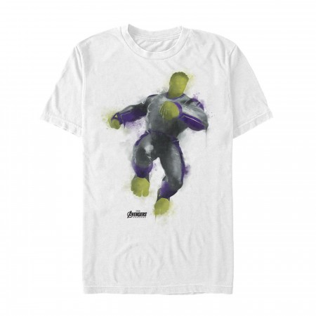 Avenger Endgame Hulk Painted Men's T-Shirt
