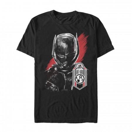 Avengers Endgame Ant Man Hero Badge Men's T-Shirt