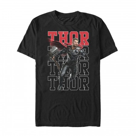 Avengers Thor Heroic Shot Men's T-Shirt