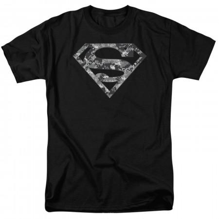 Superman Urban Camo Symbol Men's T-Shirt