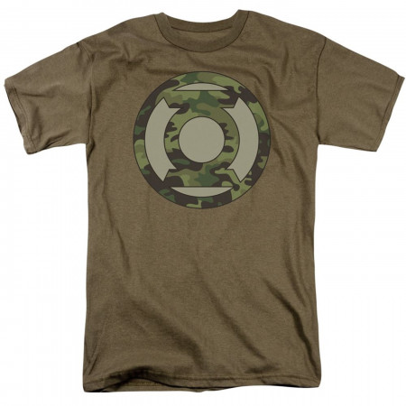 Green Lantern Camo Symbol Men's T-Shirt