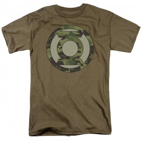 Green Lantern Camo Symbol Men's T-Shirt