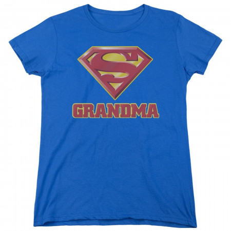 Super Grandma Mother's Day Superman Women's T-Shirt