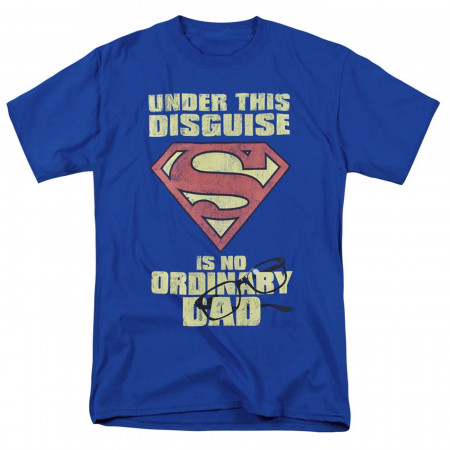 Dad in Disguise Superman Father's Day Men's T-Shirt