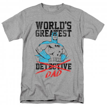 World's Greatest Dad Batman Men's T-Shirt