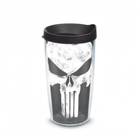 Punisher Wrap With Travel Lid 16 oz Tervis® Tumbler