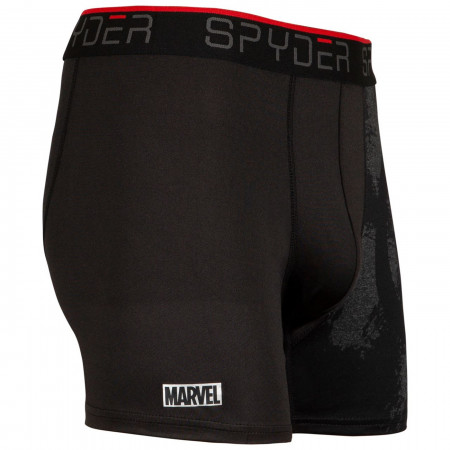 Captain America Spyder Performance Sports Boxer Briefs 3-Pair Pack