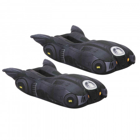 Batman Batmobile Youth Black Slippers