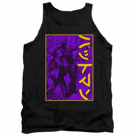 Batman 80th Big Framed Kanji Tank Top