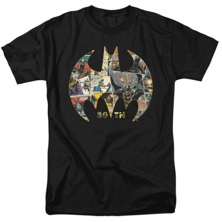 Batman 80th Shield Men's T-Shirt