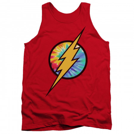 Flash Tie Dye Logo Tank Top