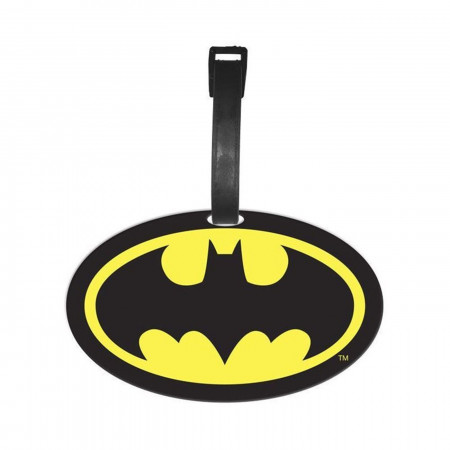 Batman Symbol Luggage Tag