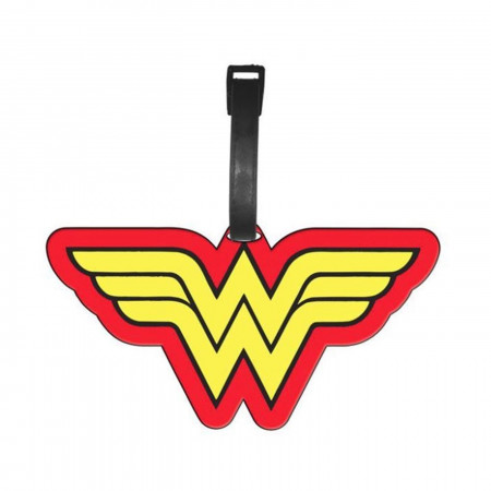 Wonder Woman Symbol Luggage Tag