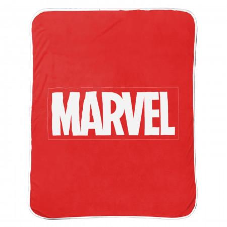 Marvel Logo Throw