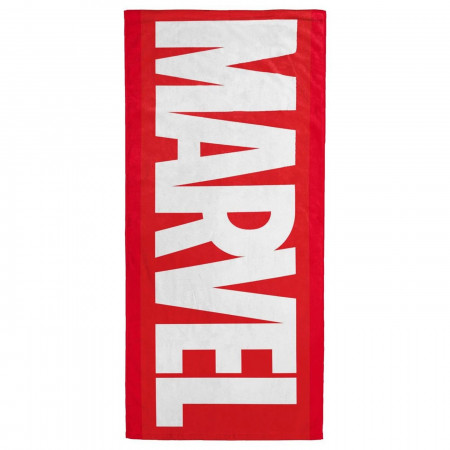 Marvel Logo Beach Towel