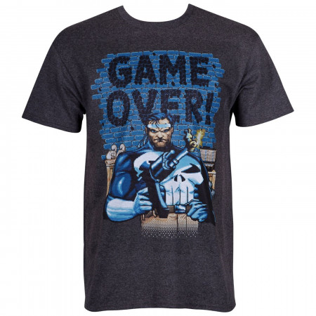 Punisher Game Over Arcade Style Men's T-Shirt