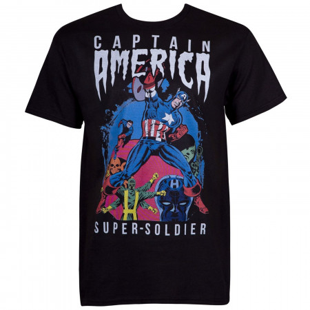 Captain America Classic Super Soldier Men's T-Shirt