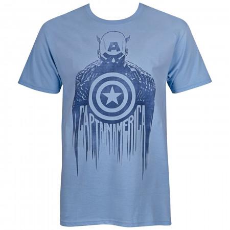 Captain America Silhouette Men's T-Shirt