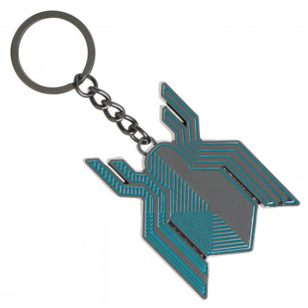 Spider-Man Far From Home Stealth Symbol Keychain