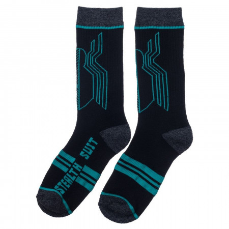 Spider-Man Stealth Suit Crew Socks