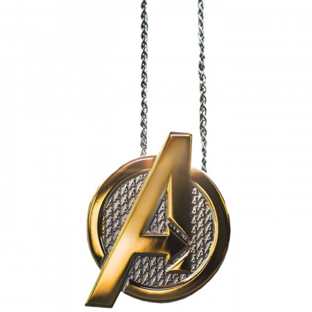 Avengers Logo Necklace with Chain