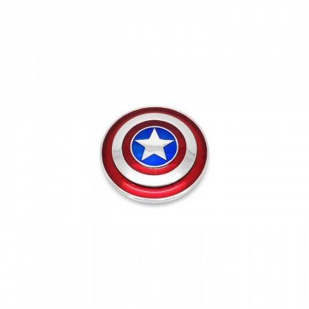 Large - Captain America Shield Necklace with Chain
